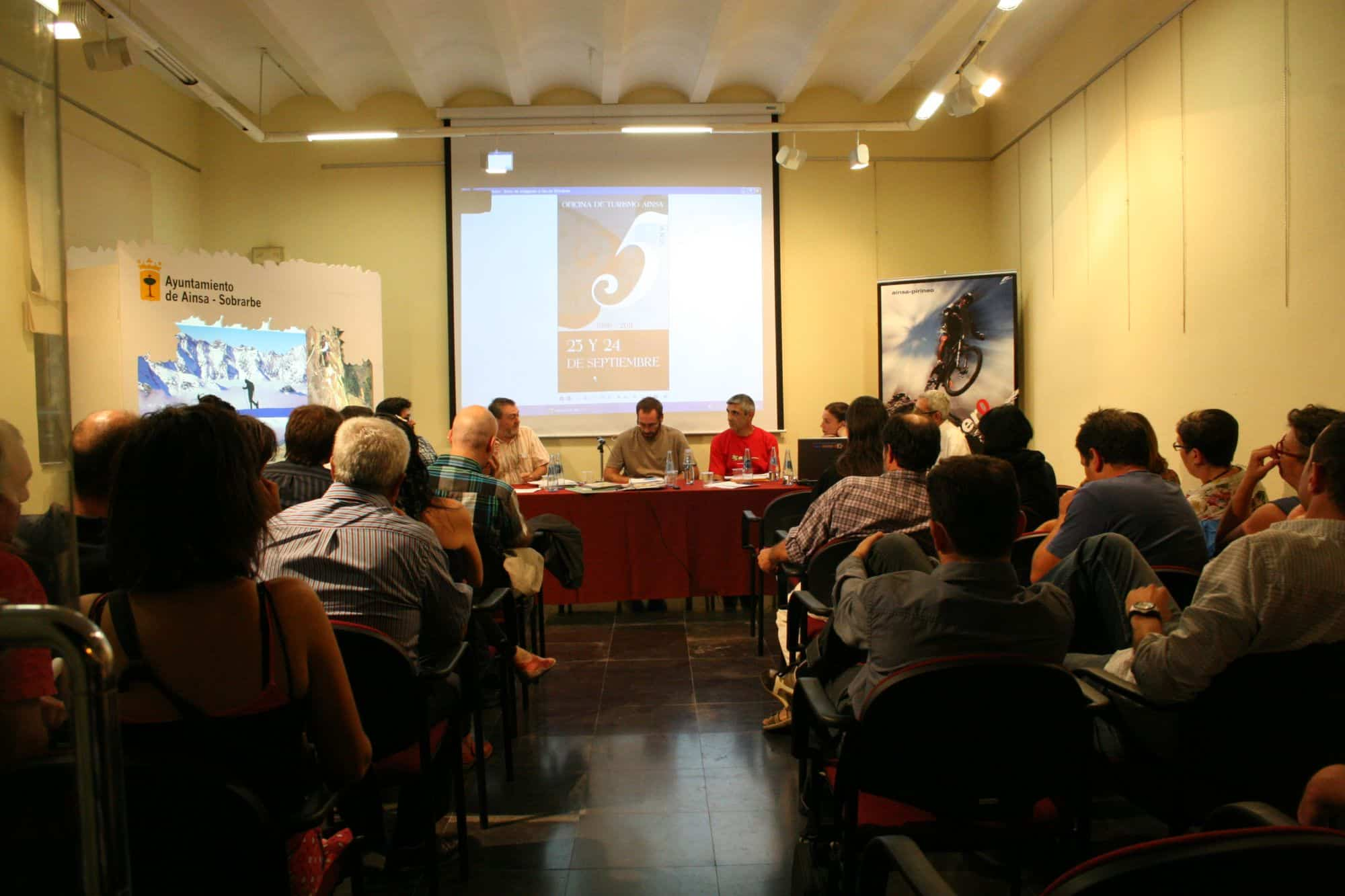 25 Aniversario de la Oficina de Turismo de Aínsa
