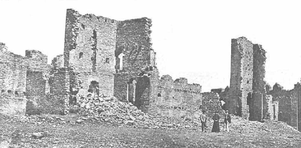 Castillo de Ainsa 1911