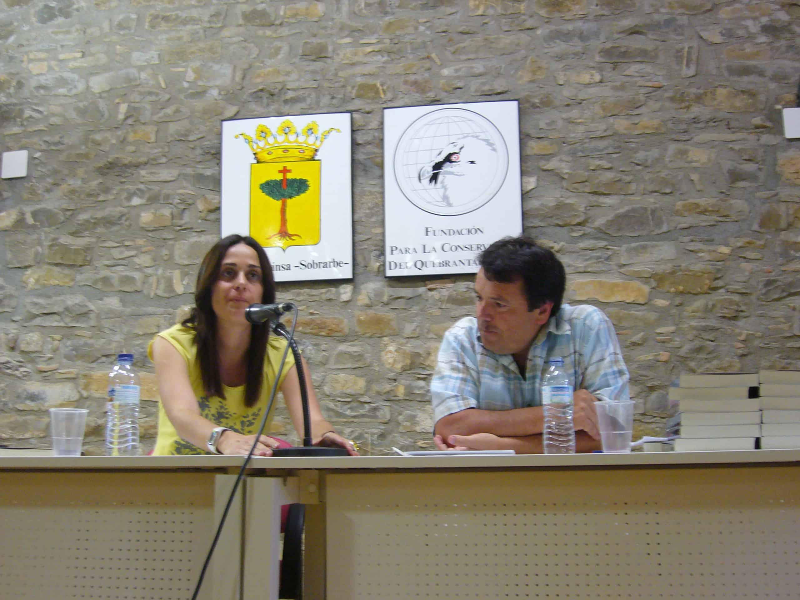 Irene Abad y Gonzalo del Campo