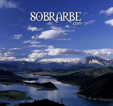 Imagen de portada de la web comarcal (Sobrarbe)